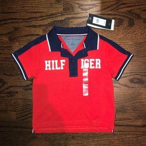 NWT Tommy Hilfiger - Boys 2T polo shirt